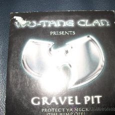 CDs de Música: PROMO CD - WU TANG CLAN - GRAVEL PIT - 2 TRACKS. Lote 37407114
