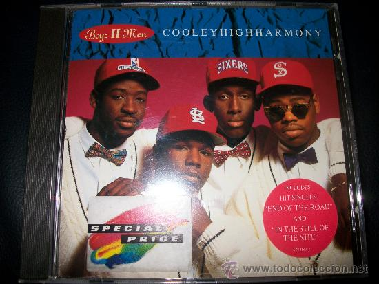 CD - BOYZ II MEN - COOLEY HIGH HARMONY (Música - CD's Melódica )