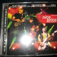 CDs de Música: CD - JOE SATRIANI / ERIC JOHNSON / STEVE VAI - G3 LIVE IN CONCERT. Lote 37407669