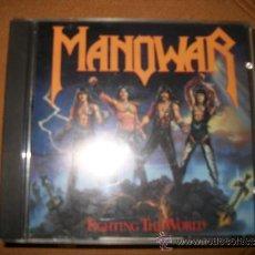 CDs de Música: CD - MANOWAR - FIGHTING THE WORLD - HEAVY METAL. Lote 37411488