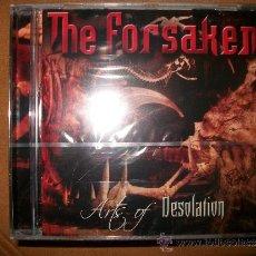 CDs de Música: CD - THE FORSAKEN - ARTS OF DESOLATION - PRECINTADO - DEATH METAL. Lote 37411995