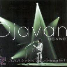 CDs de Música: 2 CD DJAVAN - AO VIVO. Lote 37421318