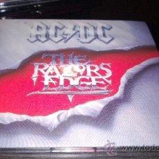 CDs de Música: AC/DC - THE RAZORS EDGE. Lote 52716930