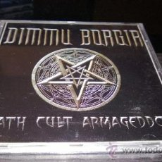 CDs de Música: DIMMU BORGIR - DEATH CULT ARMAGEDDON. Lote 37460362