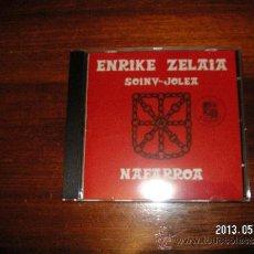 CDs de Música: ENRIKE ZELAIA NAFARROA. Lote 37481913