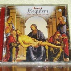 CDs de Música: CD MUSICA CLASICA - REQUIEM MOZART - CHAMBER CHOIR OF EUROPE - NICOL MATT. Lote 37488256