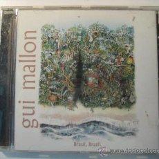 CDs de Música: CD GUI MALLON - BRAZIL, BRAZIL. Lote 37488820