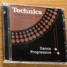 CDs de Música: TECHNICS THE ORIGINAL SESSIONS VOL III. Lote 48948754