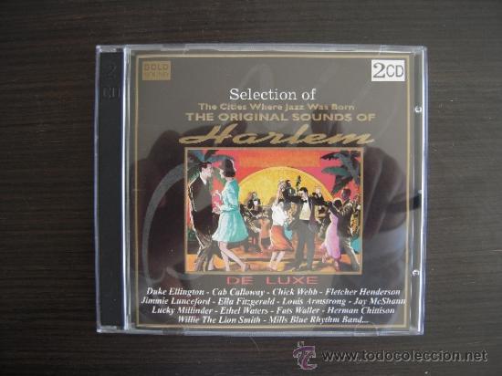 THE ORIGINAL SOUNDS OF HARLEM - THE BEST JAZZ - DOBLE CD - (Música - CD's Jazz, Blues, Soul y Gospel)