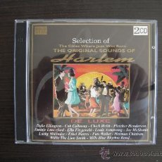 CDs de Música: THE ORIGINAL SOUNDS OF HARLEM - THE BEST JAZZ - DOBLE CD -. Lote 37508621
