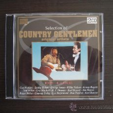 CDs de Música: COUNTRY GENTLEMAN - THE BEST COUNTRY - DOBLE CD -. Lote 37508645