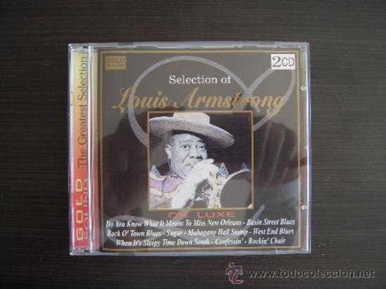 LOUIS AMSTRONG - SELECTION DE LUXE - DOBLE CD - (Música - CD's Jazz, Blues, Soul y Gospel)