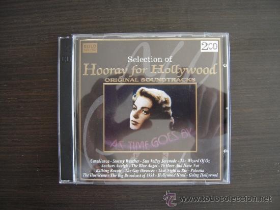 HOORAY FOR HOLLIWOOD - ORIGINAL SOUNDTRACKS - DOBLE CD - (Música - CD's Bandas Sonoras)
