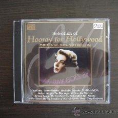 CDs de Música: HOORAY FOR HOLLIWOOD - ORIGINAL SOUNDTRACKS - DOBLE CD -. Lote 49051640