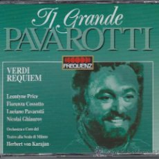 CDs de Música: PAVAROTTI - VERDI - REQUIEM (DOBLE CD). Lote 37534784