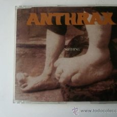 CDs de Música: ANTHRAX - NOTHING - MAXI CD 1996 . Lote 37535642