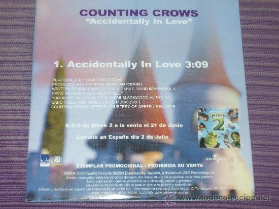 B S O Shrek 2 Counting Crows A Sold Through Direct Sale 37555668