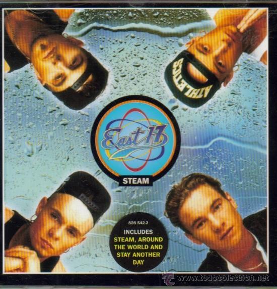 EAST 17-STEAM CD ALBUM 1994 (EU) (Música - CD's Pop)