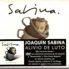 CDs de Música: CD JOAQUIN SABINA : ALIVIO DE LUTO ( CD + DVD) . Lote 37575026