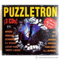 CDs de Música - PUZZLETRON 4 - TRIPLE CD SPAIN 1996 - BOY RECORDS / GINGER MUSIC BOY CD 042 - 37661352