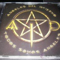 CDs de Música: ANGELES DEL INFIERNO - TODOS SOMOS ANGELES. Lote 37716352