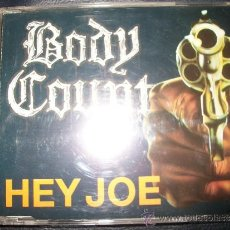 CDs de Música: PROMO CD - BODY COUNT - HEY JOE - 3 TRACKS. Lote 37743609