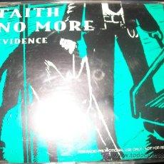 CDs de Música: PROMO CD - FAITH NO MORE - EVIDENCE. Lote 37743827
