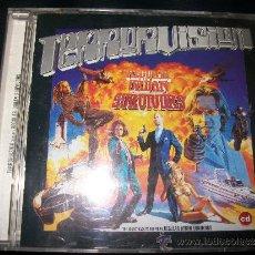 CDs de Música: CD - TERRORVISION - REGULAR URBAN SURVIVORS - PORTADA/LIBRETO MOJAD@S. Lote 37743887