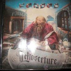CDs de Música: CD - KANSAS - LEFTOVERTURE - PORTADA/LIBRETO MOJAD@S. Lote 37743976