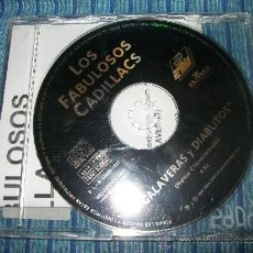 CDs de Música: PROMO CD SINGLE - LOS FABULOSOS CADILLACS - CALAVERAS Y DIABLITOS - 1997 - . Lote 37747465