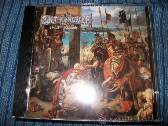 CD - BOLT THROWER -THE IV TH CRUSADE - DEATH METAL - CULTO (Música - CD's Heavy Metal)