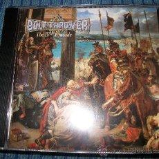 CDs de Música: CD - BOLT THROWER -THE IV TH CRUSADE - DEATH METAL - CULTO. Lote 37751928