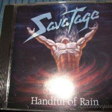 CDs de Música: CD - SAVATAGE - HANDFUL OF RAIN - PROG ROCK - HEAVY METAL - OLIVA. Lote 37752221