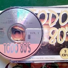 CDs de Música: TODO 80´S - ALASKA Y PACO CLAVEL - TINA CHARLES - VIOLA WILLS - 2 CDS.. Lote 37772600