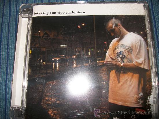 CD - TOTEKING - UN TIPO CUALQUIERA - HIP HOP (Música - CD's Hip hop)