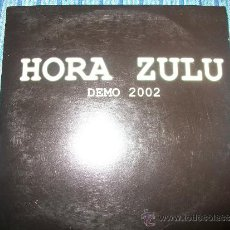 CDs de Música: PROMO CD - HORA ZULU - DEMO 2002 - 4 TRACKS + CD ROM TRACK. Lote 37850594