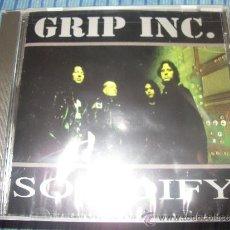 CDs de Música: CD - GRIP INC - SOLIDIFY - PRECINTADO - THRASH METAL. Lote 37850926