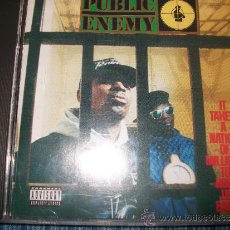 CDs de Música: CD - PUBLIC ENEMY - IT TAKES A NATION OF MILLIONS TO HOLD US BACK. Lote 37851075
