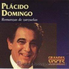 CDs de Música: PLÁCIDO DOMINGO - ROMANZAS DE ZARZUELAS. Lote 37858172