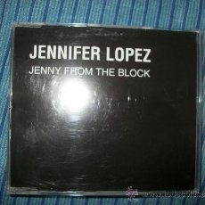 CDs de Música: PROMO CD SINGLE - JENNIFER LOPER - JENNY FROM THE BLOCK - 2 TRACKS. Lote 37865995