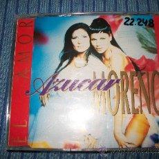 CDs de Música: PROMO CD SINGLE - AZUCAR MORENO - EL AMOR - 2 TRACKS - OUYEAHRECS. Lote 37866507