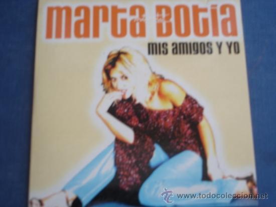 Marta Botia Mis Amigos Y Yo Promo Cd Single