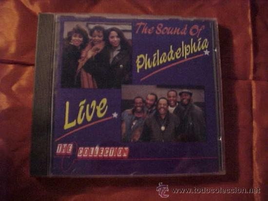 THE SOUND OF PHILADELPHIA LIVE. HAROLD MELVIN AND THE BLUE NOTES. THREE DEGREES ... CD (Música - CD's Jazz, Blues, Soul y Gospel)