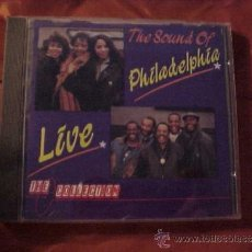 CDs de Música: THE SOUND OF PHILADELPHIA LIVE. HAROLD MELVIN AND THE BLUE NOTES. THREE DEGREES ... CD. Lote 37869981