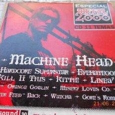 CDs de Música: MUSICA CD HEAVY: ESPECIAL METAL 2000 MACHINE HEAD ETC MJ.C. Lote 38659981