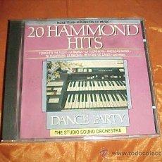 CDs de Música: 20 HAMMOND HITS. DANCE PARTY. THE STUDIO SOUND ORCHESTRA. CD EDICION HOLANDESA. Lote 37884440