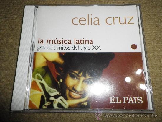 CELIA CRUZ LA MUSICA LATINA CD ALBUM DEL AÑO 2000 COLECCION EL PAIS CONTIENE 14 TEMAS (Música - CD's Latina)