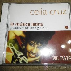 CDs de Música: CELIA CRUZ LA MUSICA LATINA CD ALBUM DEL AÑO 2000 COLECCION EL PAIS CONTIENE 14 TEMAS. Lote 37903302