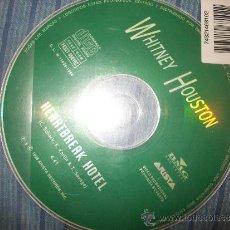 CDs de Música: PROMO CD SINGLE - WHITNEY HOUSTON - HEARTBREAK HOTEL - SOLO CD. Lote 37920693