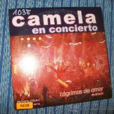 CDs de Música: PROMO CD SINGLE - CAMELA EN CONCIERTO - LAGRIMAS DE AMOR. Lote 37921736